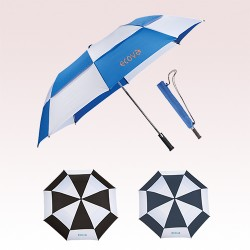 58 Inch Arc Promotional Slazenger 2 Fold Auto Open Golf Umbrellas