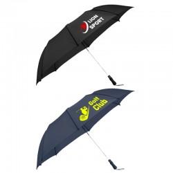 58 Inch Arc Promotional Ultra Value Auto Open Folding Golf Umbrellas