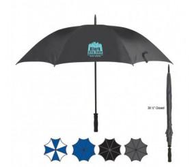 60 inch Arc Custom Logo Umbrellas w/ 4 Colors