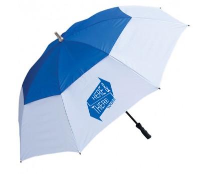 Printed Golf Umbrellas W/ 3 Colors