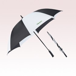 60 Inch Arc Promotional Totes SunGuard Auto Open Golf Umbrellas