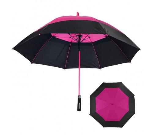 62 Inch Arc Promotional Hurricane Golf Umbrellas