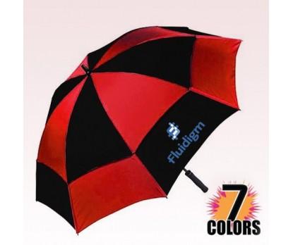 "62"" Windproof Customized Umbrellas w/ 7 Colors"