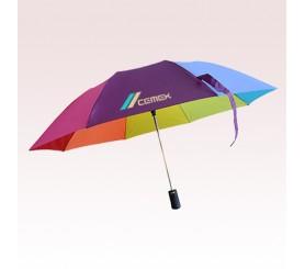 43 Inch Arc Promotional Star Rainbow Umbrellas