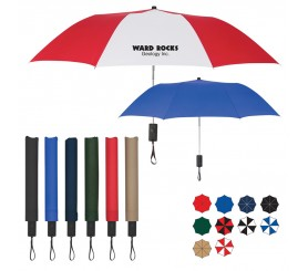 44 Inch Arc Custom Auto-Open Folding Umbrellas