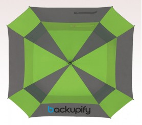 60 inch Arc Custom Imprinted Logo Umbrellas