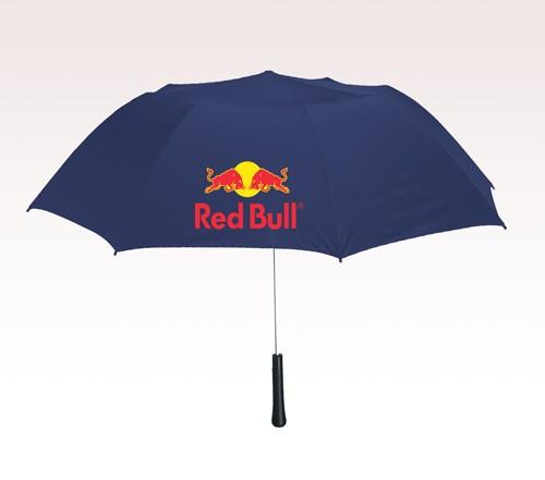 56 inch Arc Telescopic Custom Logo Umbrellas w/ 3 Colors