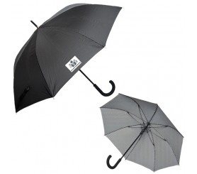 46 Inch Arc Customized Executive Pinstripe Umbrellas