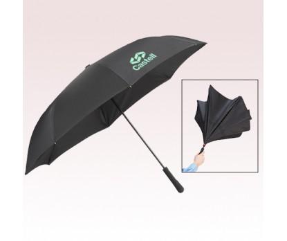 46 Inch Arc Personalized Manual Inversion Umbrellas