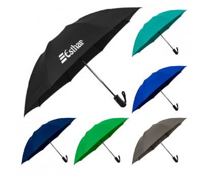 46 Inch Arc Custom Printed Reversa Inverted Folding Umbrellas