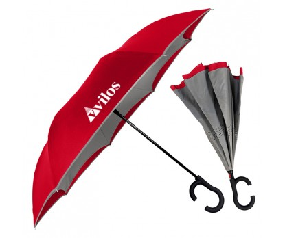Personalized ViceVersa Inverted Umbrellas