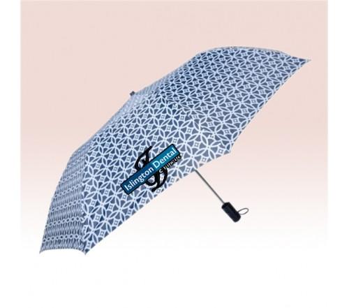 44 Inch Auto Open Custom Printed Full Color Umbrellas w/ 5 Colors