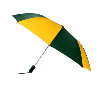 Custom Hunter & Gold 43 inchWind Logo Imprinted Umbrellas