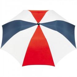 Custom Red, White & Blue 42 inchArc Printed Umbrellas