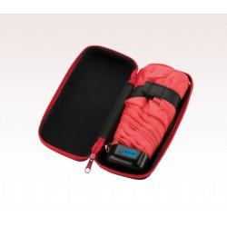Customized Black & Red 37 inch Arc Folding Custom Logo Umbrellas
