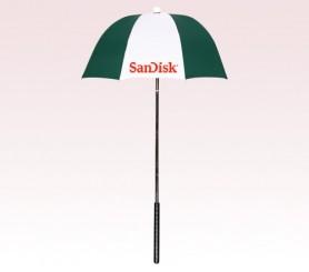 Customized  Hunter Green & White 32 inchGolf Bag Umbrellas