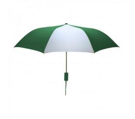 Customized Hunter & White Mini 42 inchArc Logo Umbrellas