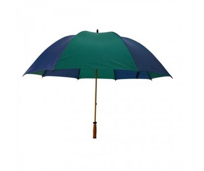 Customized Navy & Hunter Green 64 inchArc Mulligan Golf Umbrellas