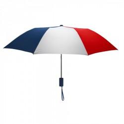 Customized Red, White & Navy Mini 42 inchArc Logo Umbrellas
