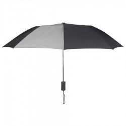 Personalized Black & Gray 43 inch Arc Pakman Umbrellas