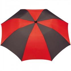 Personalized Black & Red 42 inchArc Printed Umbrellas