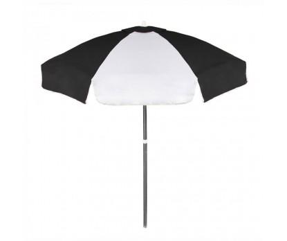 Personalized Black & White 6.5 ft Vinyl Patio/Cafe Umbrellas
