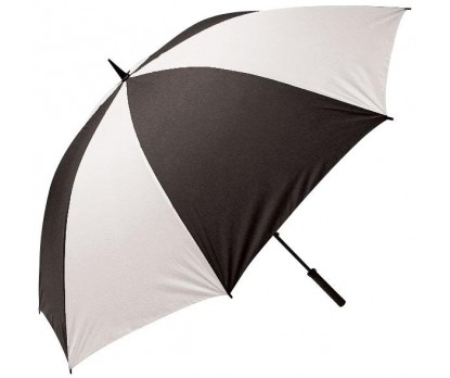 Personalized Black & White 62'' Arc Golf Umbrellas