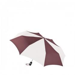 Personalized Burgundy & White 43 inch Arc Totes Auto-Open/Close Umbrellas