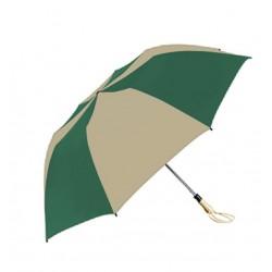 Personalized Forest & Khaki 58 inch Arc Traveler Auto- Open Umbrellas