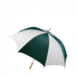 Personalized Forest & White 60 inch Arc Pro-Am Golf Umbrellas