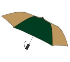Personalized Hunter & Khaki 42 inch Arc Spectrum Automatic Folding Umbrellas