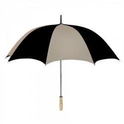 Personalized Khaki & Black 60 inchArc Golf Umbrellas