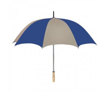 Personalized Khaki & Navy 60 inchArc Golf Umbrellas