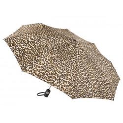 Personalized Leopard 43 inch Arc Totes Auto-Open/Close Umbrellas