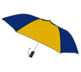Personalized Navy & Gold 42 inch Arc Spectrum Automatic Folding Umbrellas