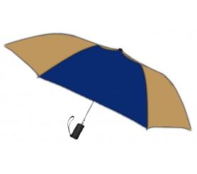 Personalized Navy & Khaki 42 inch Arc Spectrum Automatic Folding Umbrellas