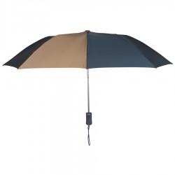 Personalized Navy & Khaki 43 inch Arc Pakman Umbrellas
