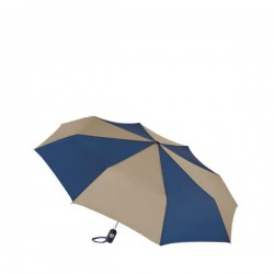 Personalized Navy & Khaki 43 inch Arc Totes Auto-Open/Close Umbrellas
