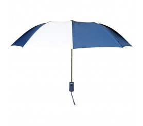 Personalized Navy & White 43 inch Arc Pakman Umbrellas