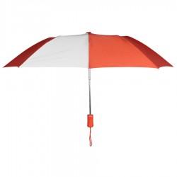 Personalized Orange & White 43 inch Arc Pakman Umbrellas