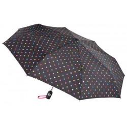 Personalized Polka Dots 43 inch Arc Totes Auto-Open/Close Umbrellas
