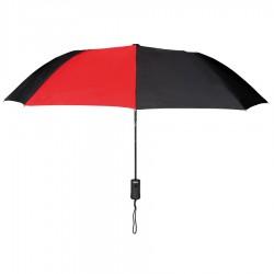 Personalized Red & Black 43 inch Arc Pakman Umbrellas