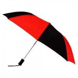 Personalized Red & Black 43 inchWind Logo Imprinted Umbrellas