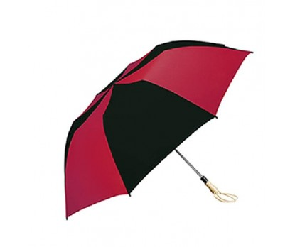 Personalized Red & Black 58 inch Arc Traveler Auto- Open Umbrellas