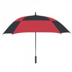 Personalized Red & Black 60 inchArc Square Umbrellas
