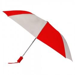 Personalized Red & Gray 43 inch Arc Pakman Umbrellas