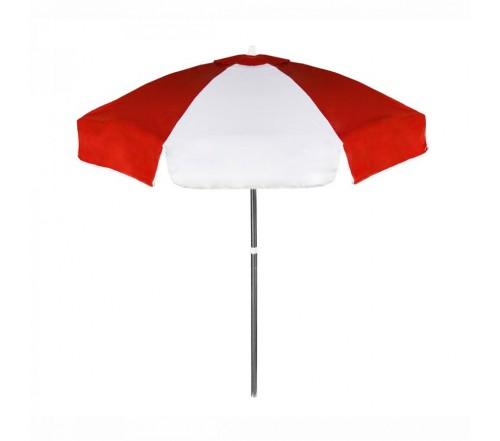 Personalized Red Amp White 6 5 Ft Vinyl Patio Cafe Umbrellas