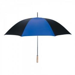 Personalized Royal Blue & Black 60 inchArc Golf Umbrellas