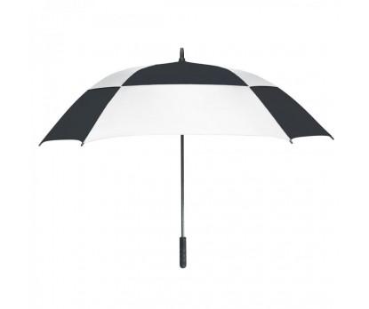 Personalized White & Black 60 inchArc Square Umbrellas