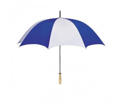 Personalized White & Royal Blue 60 inchArc Golf Umbrellas